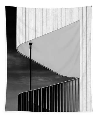Curved Balcony Tapestry