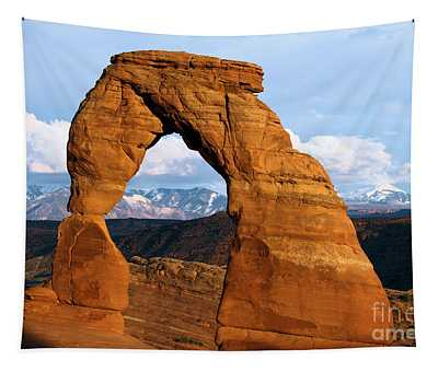 Delicate Arch At Arches Tapestry