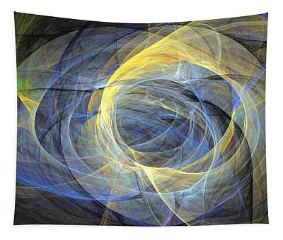 Delightful Mood Of Abstracted Mind Tapestry