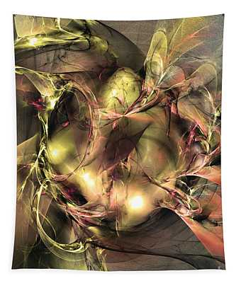 Do Not Touch -abstract Art Tapestry