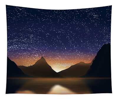 Dramatic Landscape  Tapestry