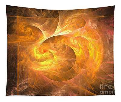 Eternal Flame - Abstract Art Tapestry