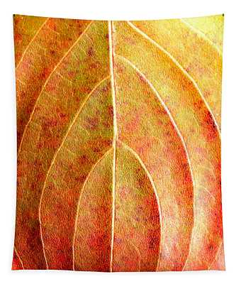 Fall Leaf Upclose Tapestry