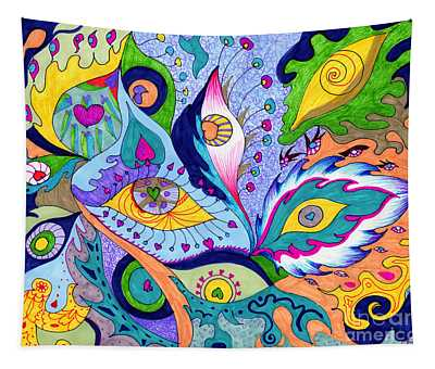 Fantas Eyes Tapestry