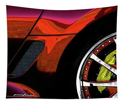 Ferrari Wheel Detail Tapestry