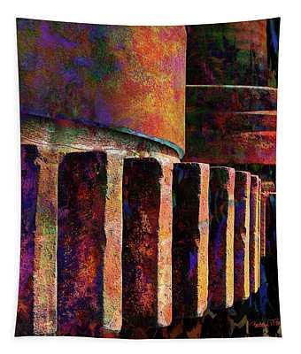 Fiery Glow Tapestry