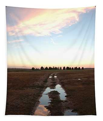 Fire After The Storm Tapestry