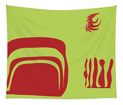 Fire Spirit Cave Tapestry