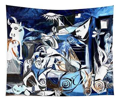 Fish Guernica Tapestry