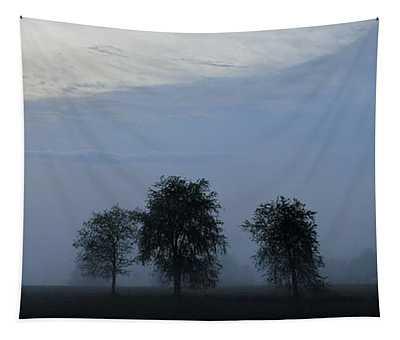 Foggy Pennsylvania Treeline Tapestry