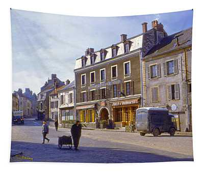 French Village Tapestry