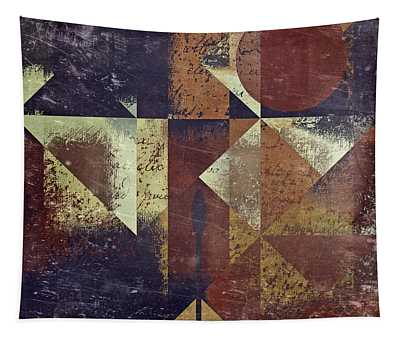 Geomix 04 - 6ac8bv2t7c Tapestry