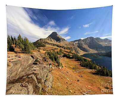 Glacier Hidden Lake Tapestry