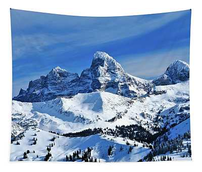 Grand Teton Winter Tapestry