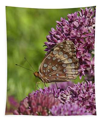 Great Spangled Fritillary Din194 Tapestry
