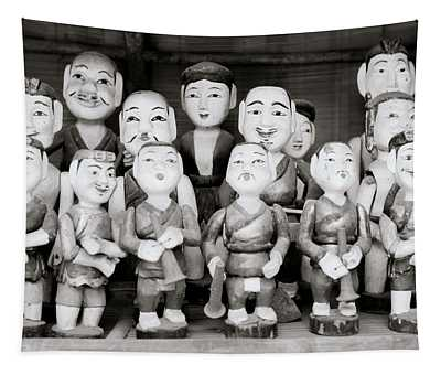 Hanoi Water Puppets Tapestry