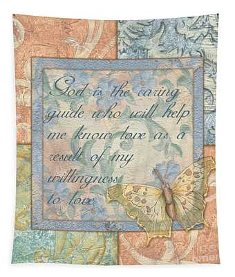 Hint Of Spring Butterfly 1 Tapestry