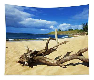 Hookipa Bay Tapestry