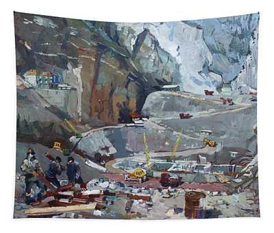 Hydropower Koman Tapestry