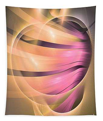 In Medias Res -abstract Art Tapestry