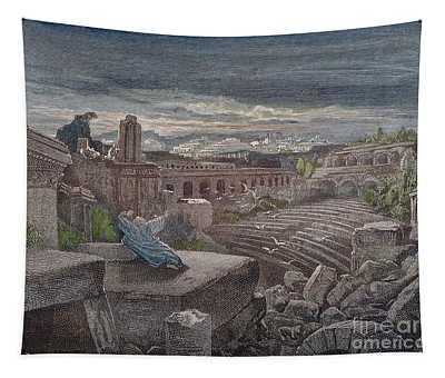 Isaiahs Vision Tapestry