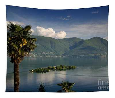 Islands On An Alpine Lake Tapestry