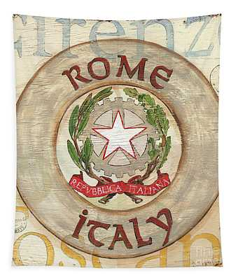 Italian Coat Of Arms Tapestry