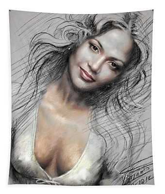 J L0 Tapestry