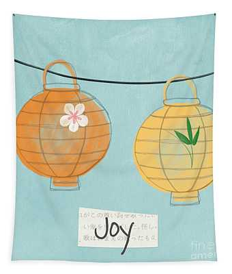 Joy Lanterns Tapestry