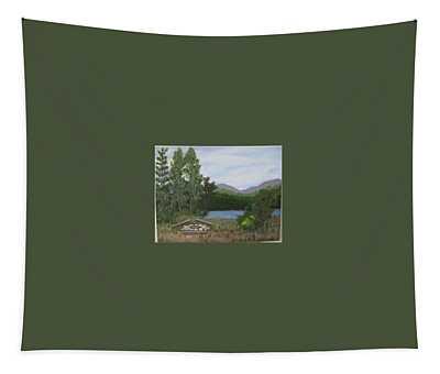 Kootenay Lake Bc Tapestry