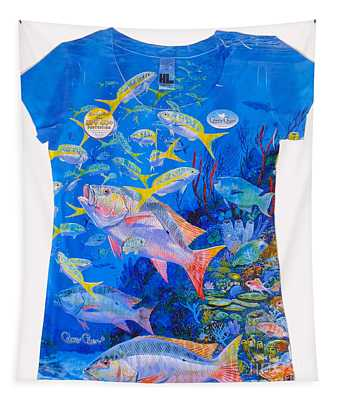 Ladies Mutton Snapper Shirt Tapestry