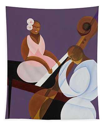 Lavender Jazz Tapestry