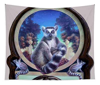 Zoofari Poster The Lemur Tapestry