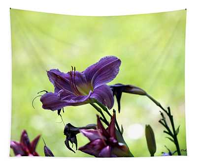 Lily Garden Tapestry