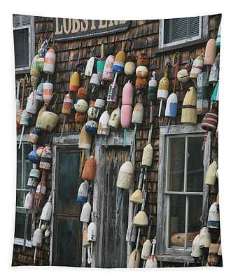 Lobster Buoys Tapestry