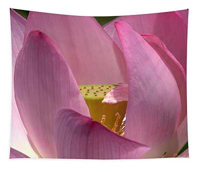 Lotus--center Of Being I Dl022 Tapestry