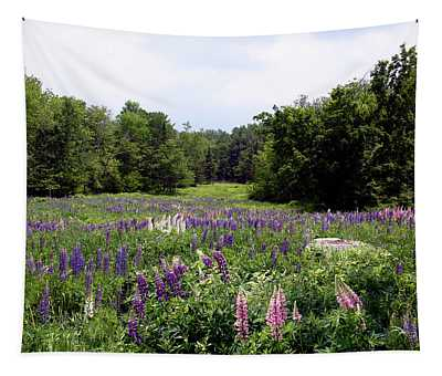 Lupine Vale Tapestry