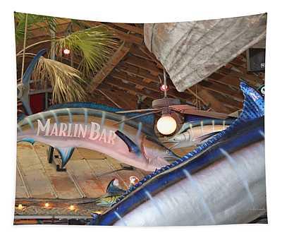 Marlin Bar Tapestry