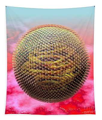 Measles Virus Tapestry