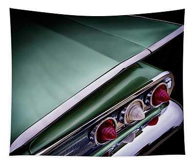 Metalic Green Impala Wing Vingage 1960 Tapestry