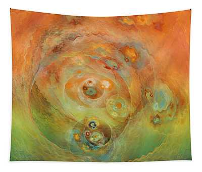 Molecular Eggs Tapestry
