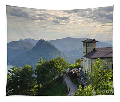 Mountain Bre Tapestry