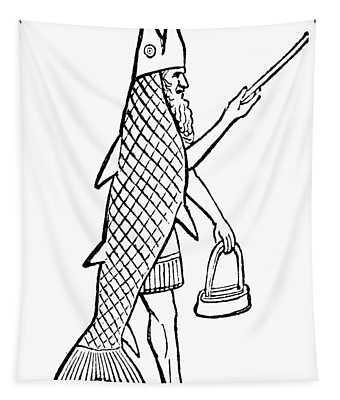 Mythology: Oannes (dagon) Tapestry