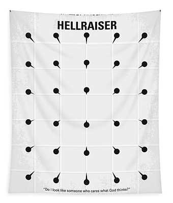 No033 My Hellraiser Minimal Movie Poster.jpg Tapestry