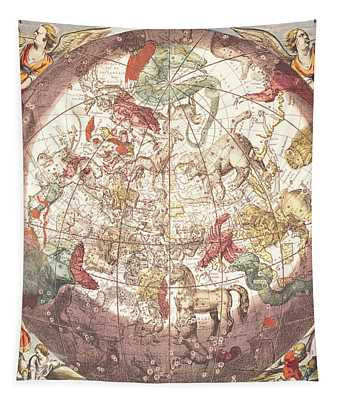 Northern Boreal Hemisphere From The Celestial Atlas Tapestry