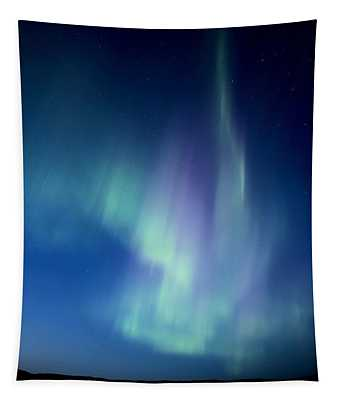 Northern Lights Over Canadian Lake Tapestry