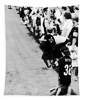 Number 1 Bettis Fan - Black And White Tapestry