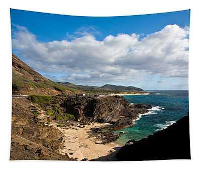 Oahu Coastal Getaway Tapestry