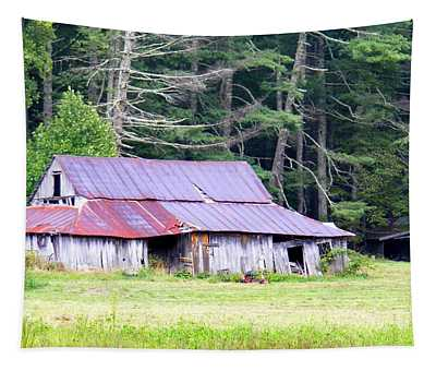 Old Barn Near Cashiers Nc Tapestry