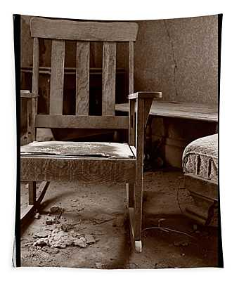 Old Chair Bodie California Tapestry